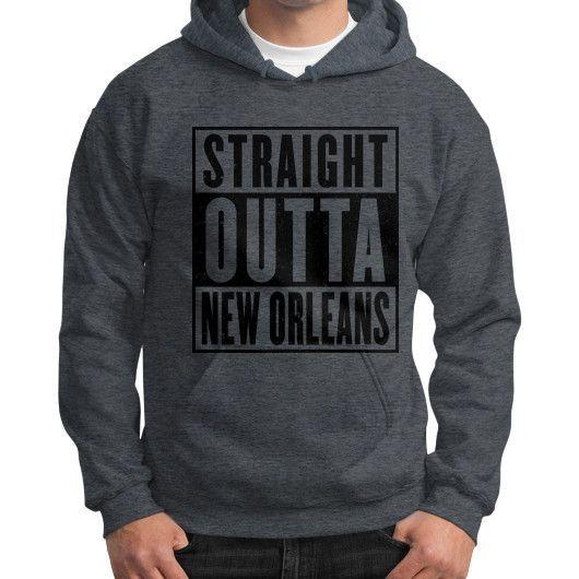 New Orleans Hoodie (on man)