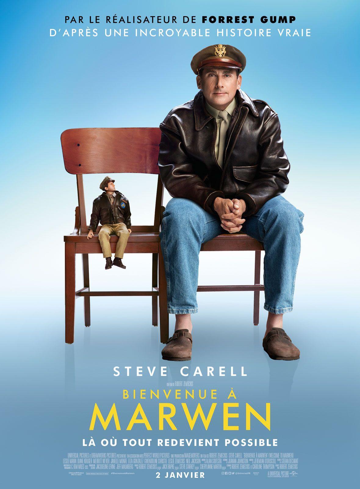 Bienvenue à Marwen film 2018 AlloCiné Films complets