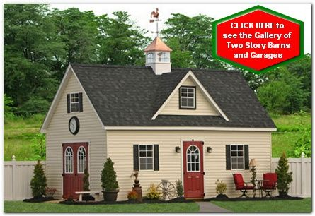 garden shed two story for nj and de