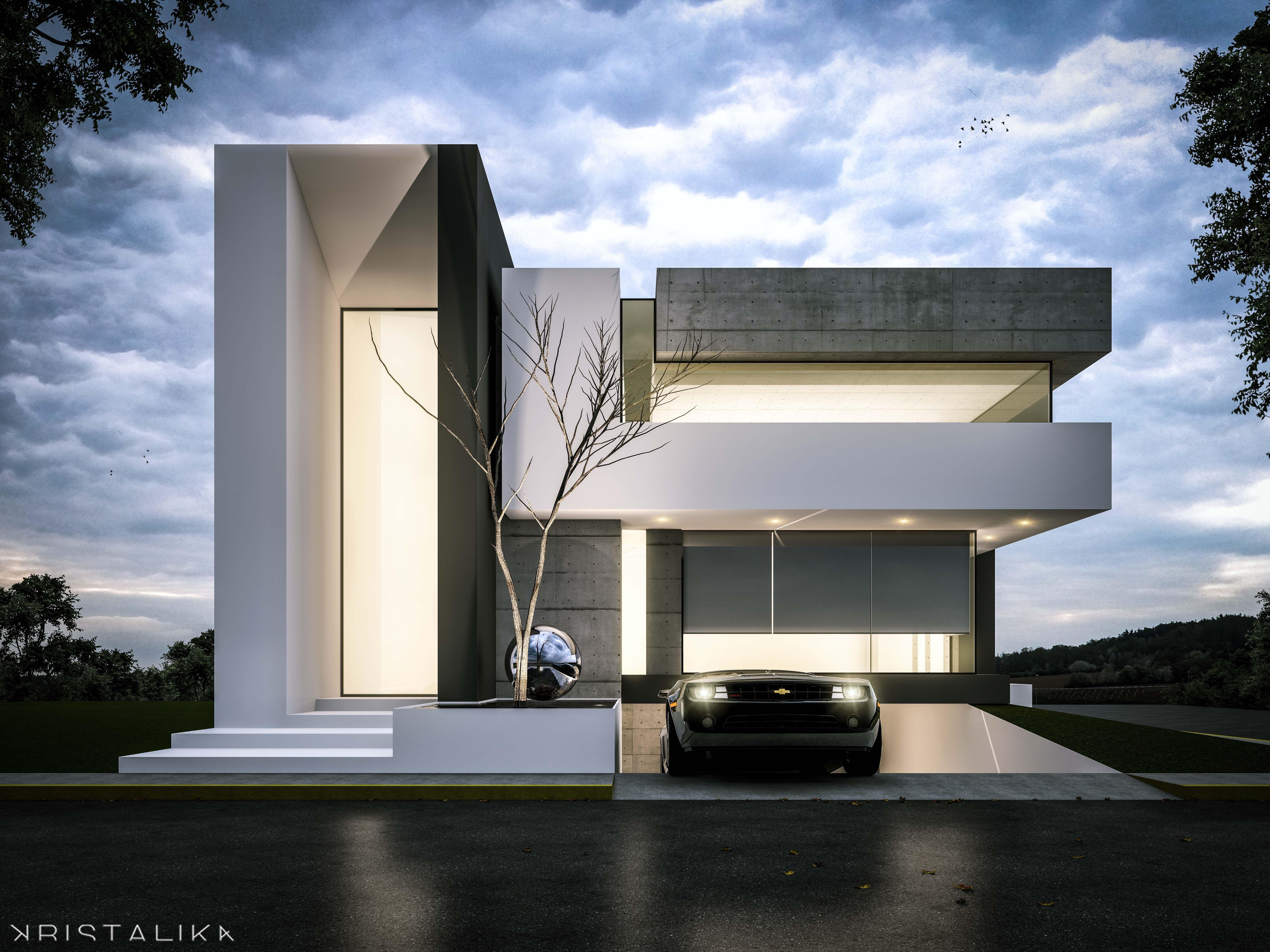 Házak, Épület és