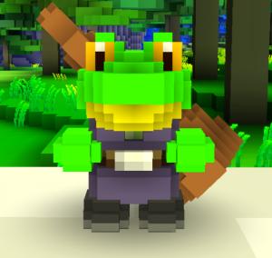 Frogman Cubeworld Wiki Cube World Game Inspiration Frogman