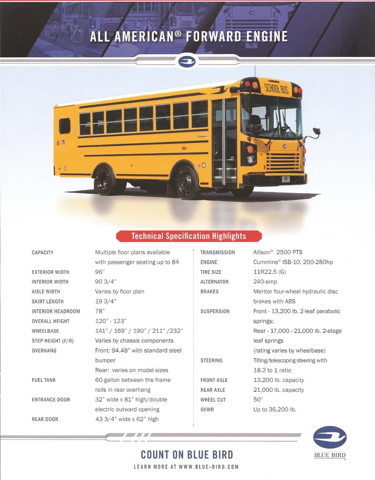 pin by jacob plante on bluebird school bus brochures school busschool bus camper, school buses, heavy duty trucks, heavy truck, converted bus