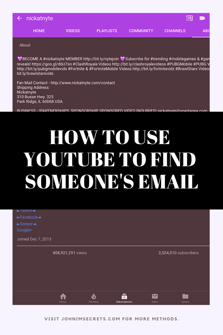 How To Find Someone S Email Address For Free Email Marketing Inspiration Twitter Marketing Strategy Email Marketing Template