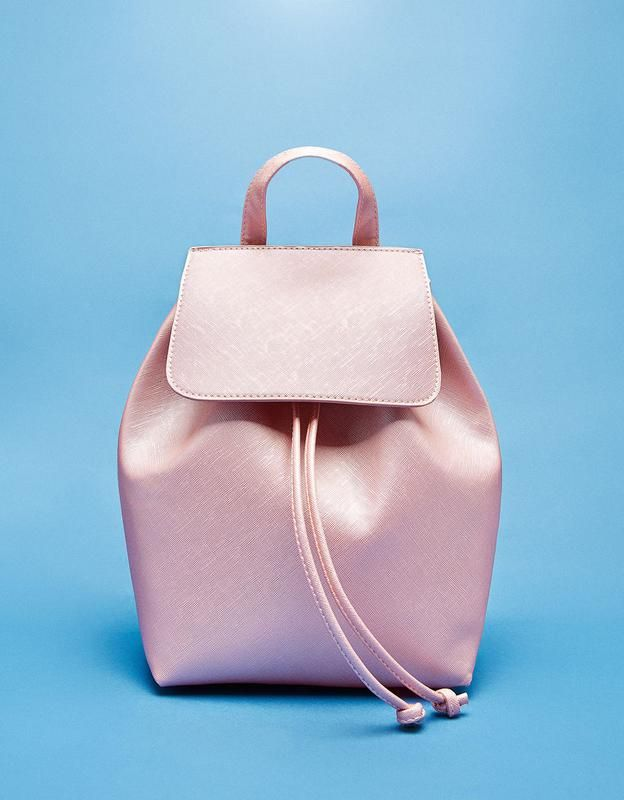 82bc6a4e482a Рюкзак bershka светло-розовый Bershka, цена - 669 грн, #4972540, купить по  доступной цене | Украина - Шафа