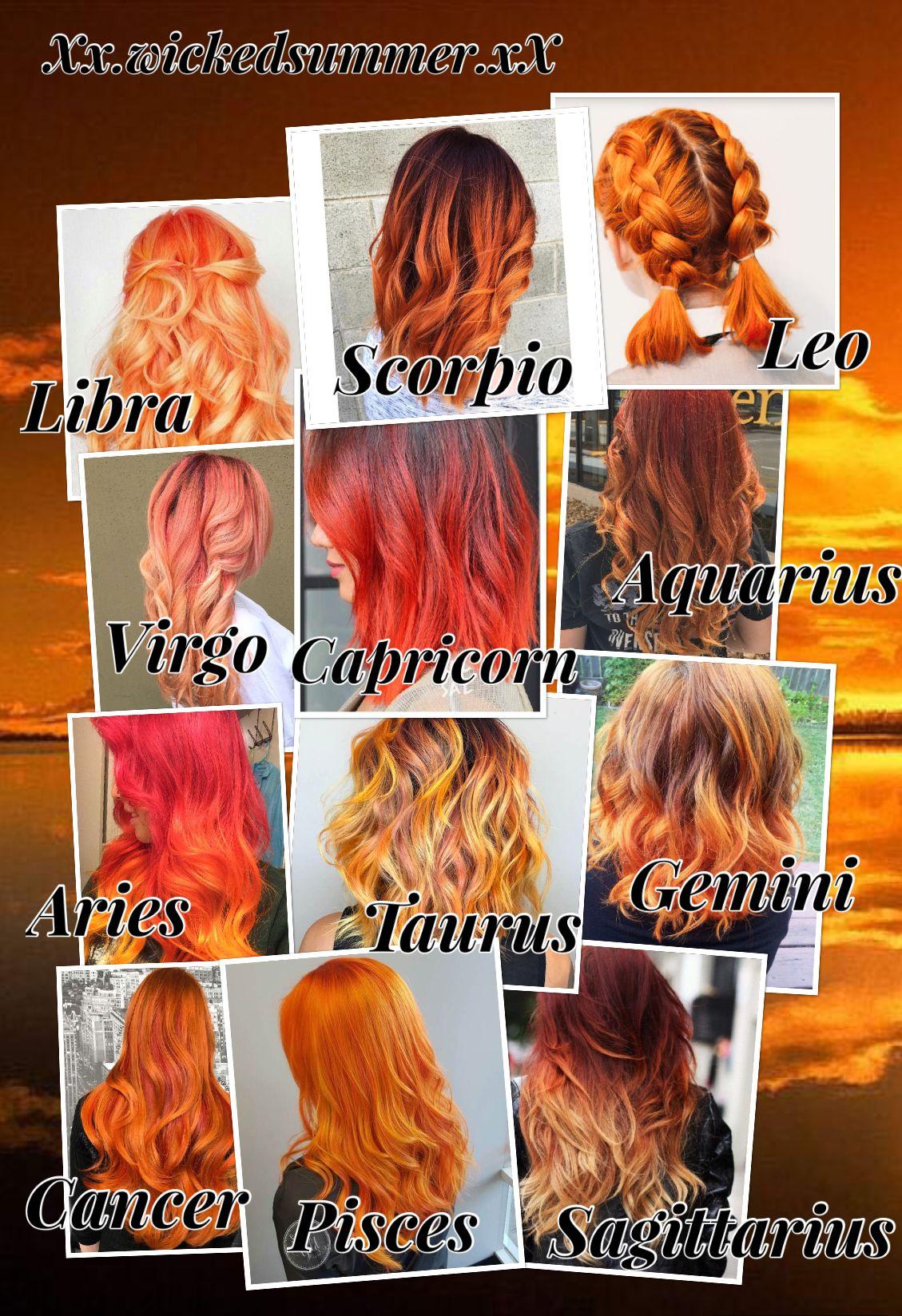 Hair Coloring Types Zodiac Signs Sagittarius Zodiac Signs Zodiac Signs Astrology