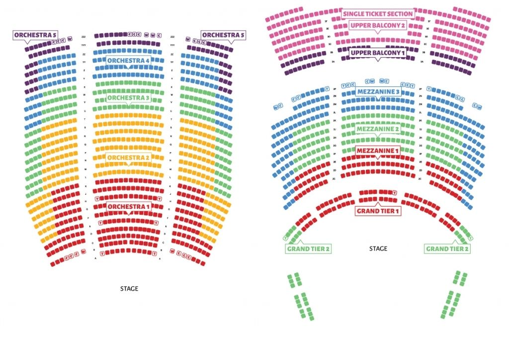 Eccles Theater Seating Chart In 2020 Seating Charts Theater Seating The Incredibles