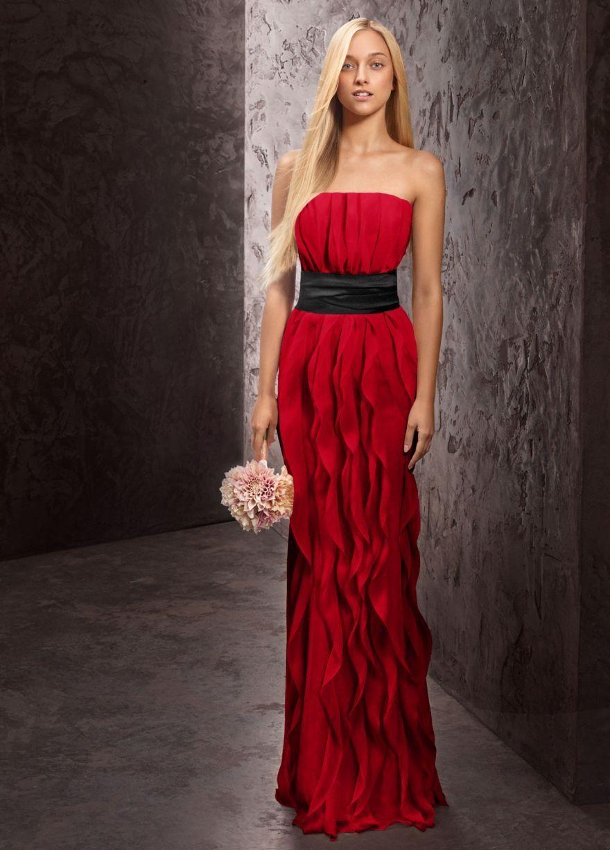 Gryffindor brideus maids dress ideas gold sash not black