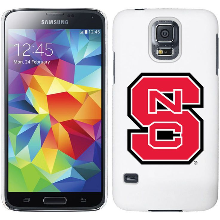 NC State Wolfpack Galaxy S5 Primary Logo Thinshield Case - White - $29.99