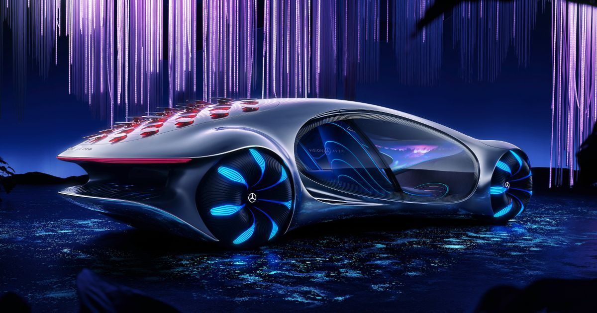 The Mercedes Vision AVTR Is Inspired By A 10-Year-Old Film For Some Reason