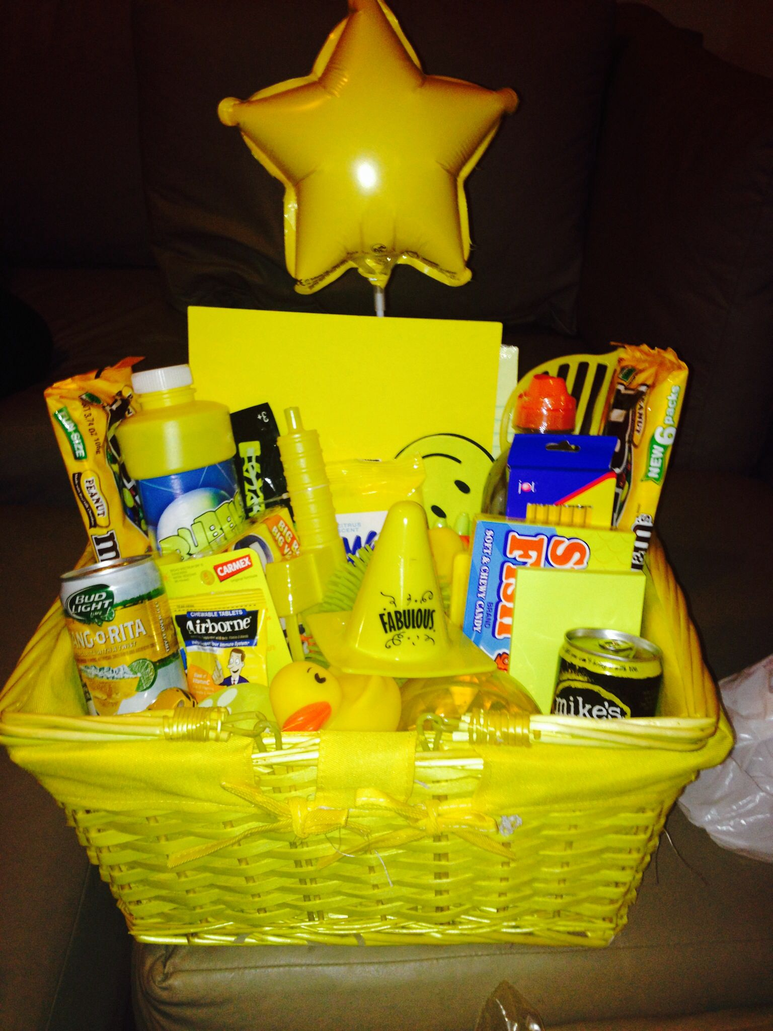 A Basket If Sunshine Gift Perfect For When Some Needs A