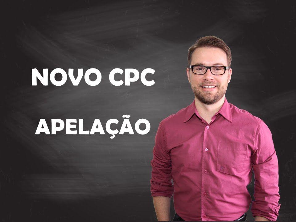 NOVO CPC - APELAÇÃO