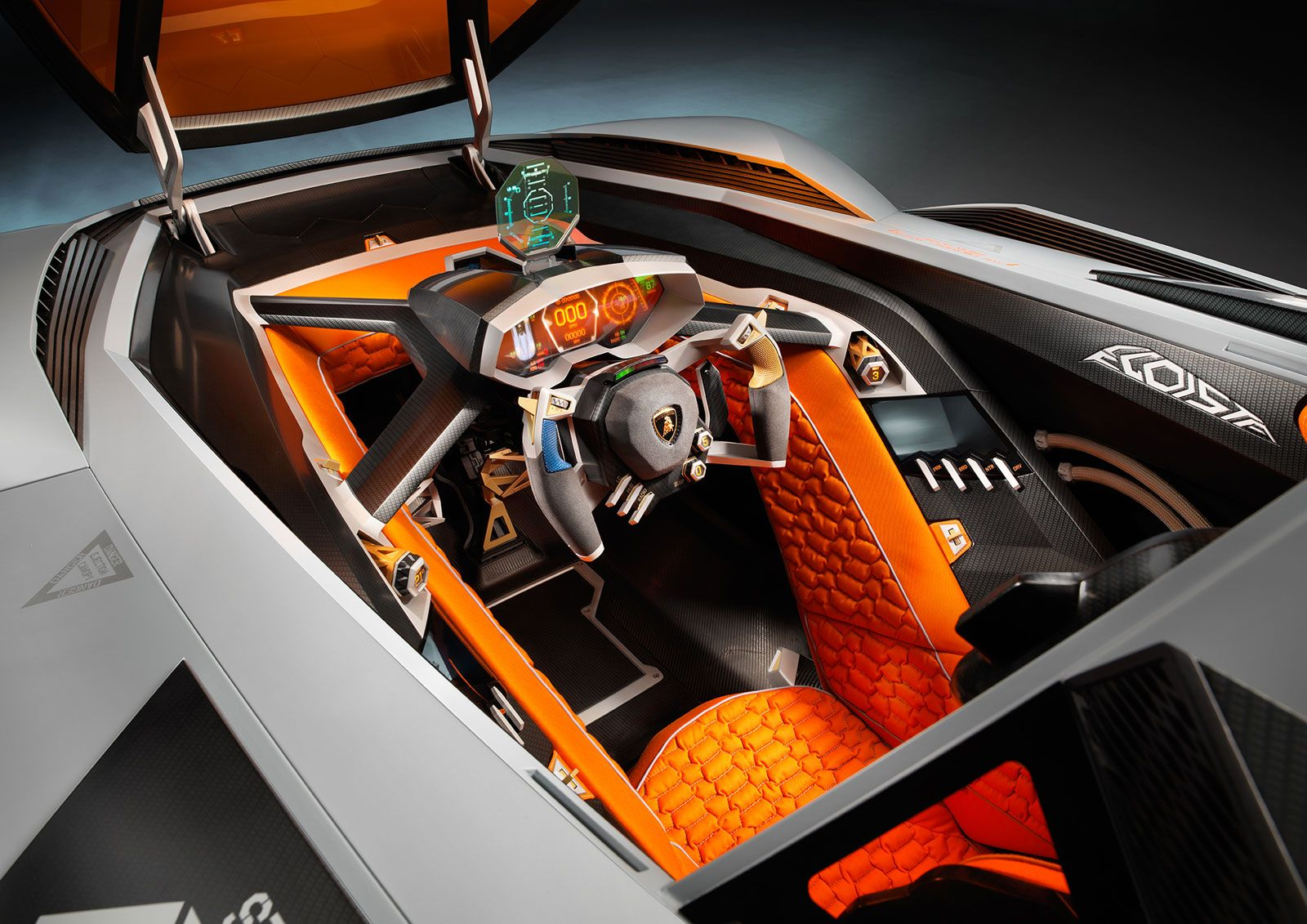 Delicieux Lamborghini Egoista Concept Interior