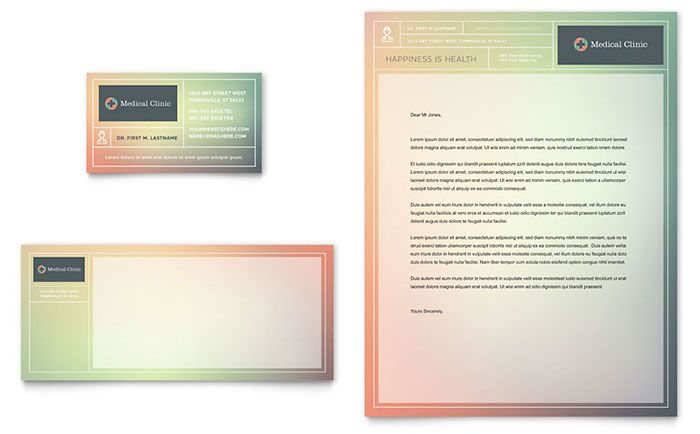 doctor office letterhead template