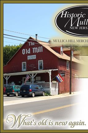 Mullica Hill The Old Mill Antique Store Has 3 Levels To Look At