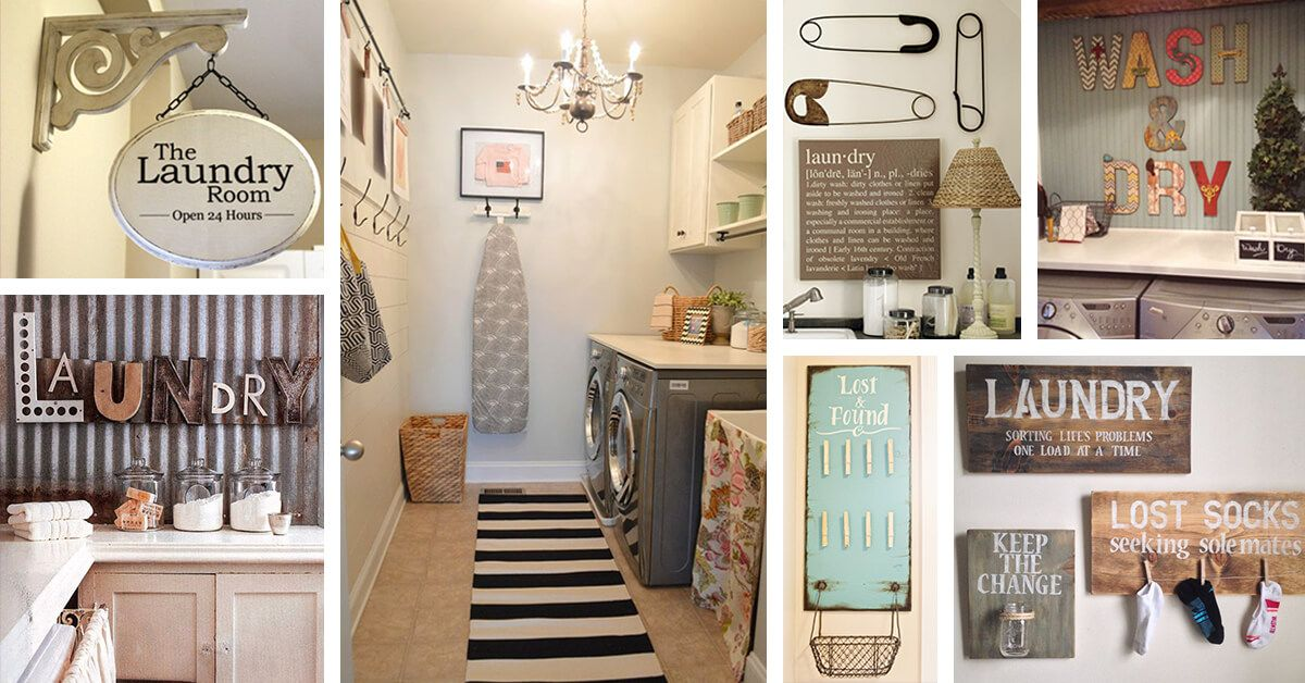 Laundry Room Decor Makes Your Work Interestingly Easy Vintage