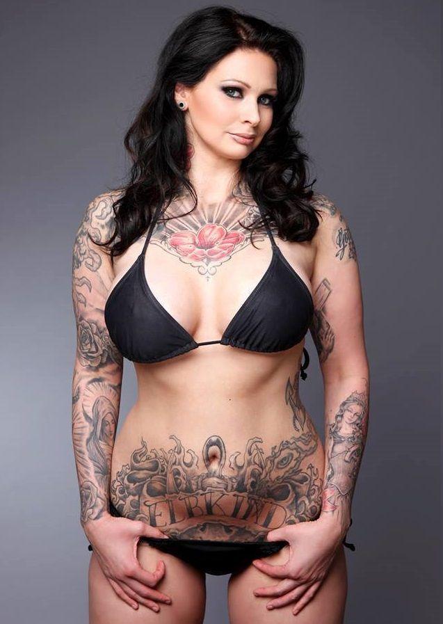 Pin On Tattooed Beauties-3368