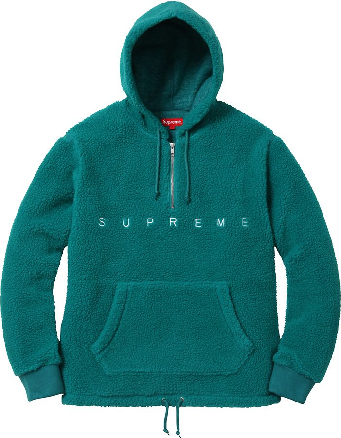 45277b851cae51 Supreme Sherpa Fleece Pullover