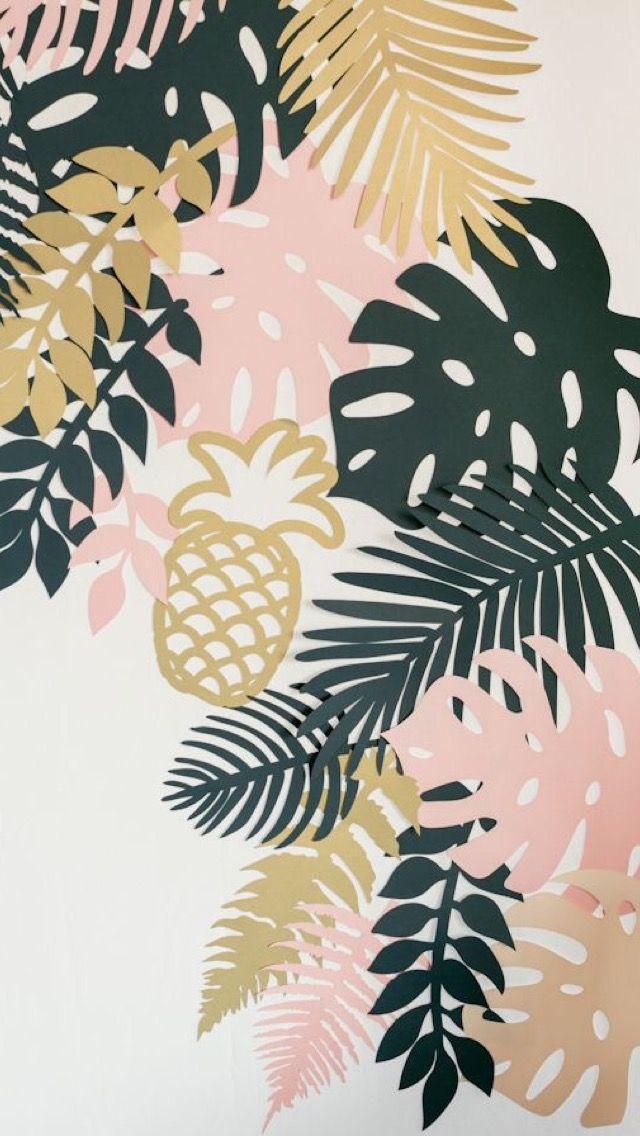 Tropic Jungle Iphone Wallpaper Tropical Foliage Tropical Iphone Wallpaper