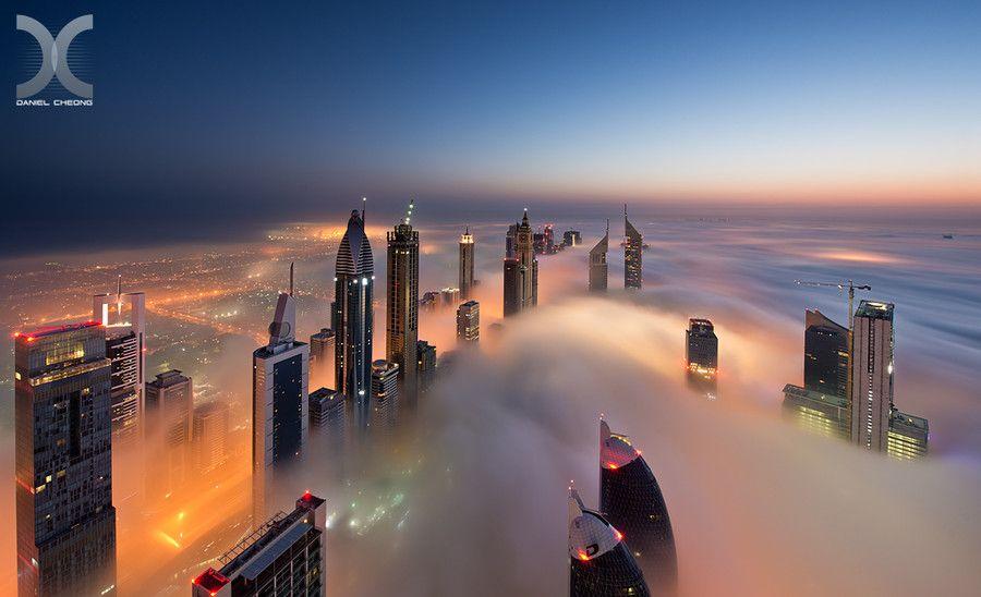 500px / Photo Dawn on Cloud City by Daniel Cheong