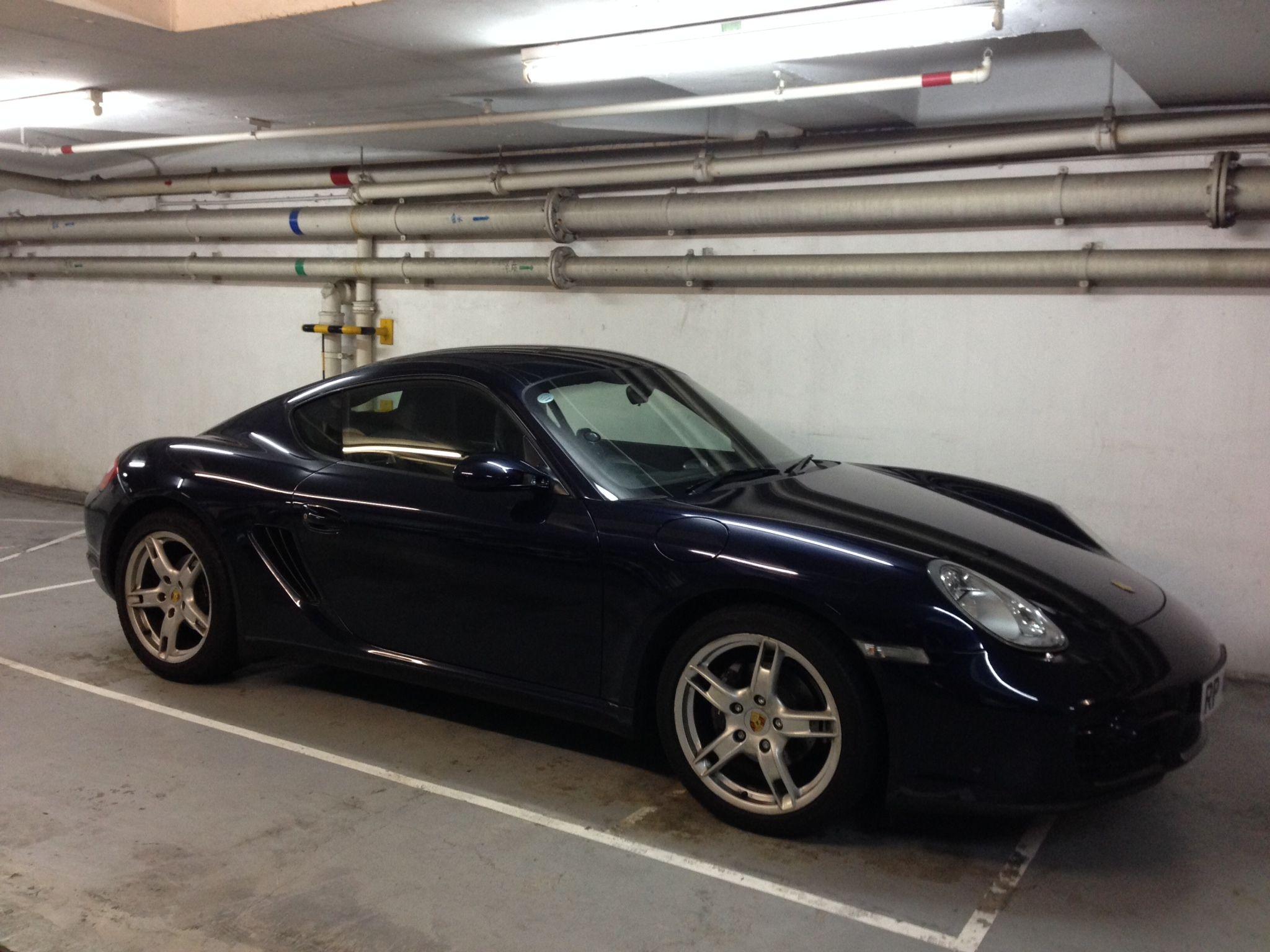 Porsche Cayman 987 2 7 2007 Night Blue