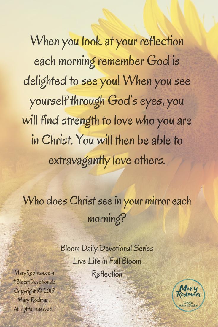 Reflection Bible Love Reflection Daily Devotional