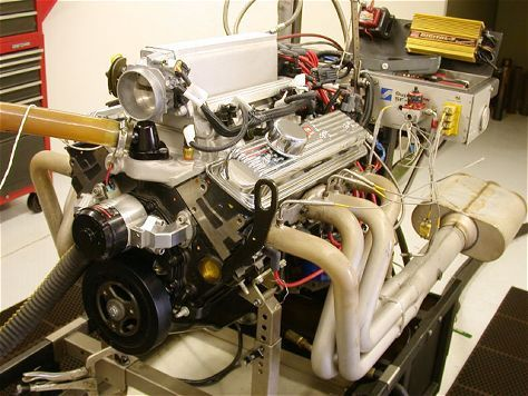 Gm Performance Parts Ramjet 350 Crate Engine Dyno Test Hot Rod