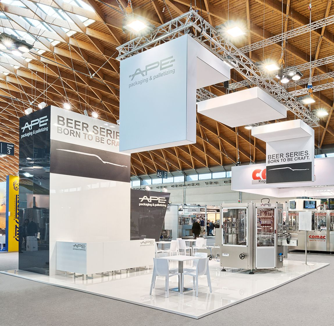 Exhibition Stand Attraction Ideas : Beauty beer fair rimini event stand exhibition