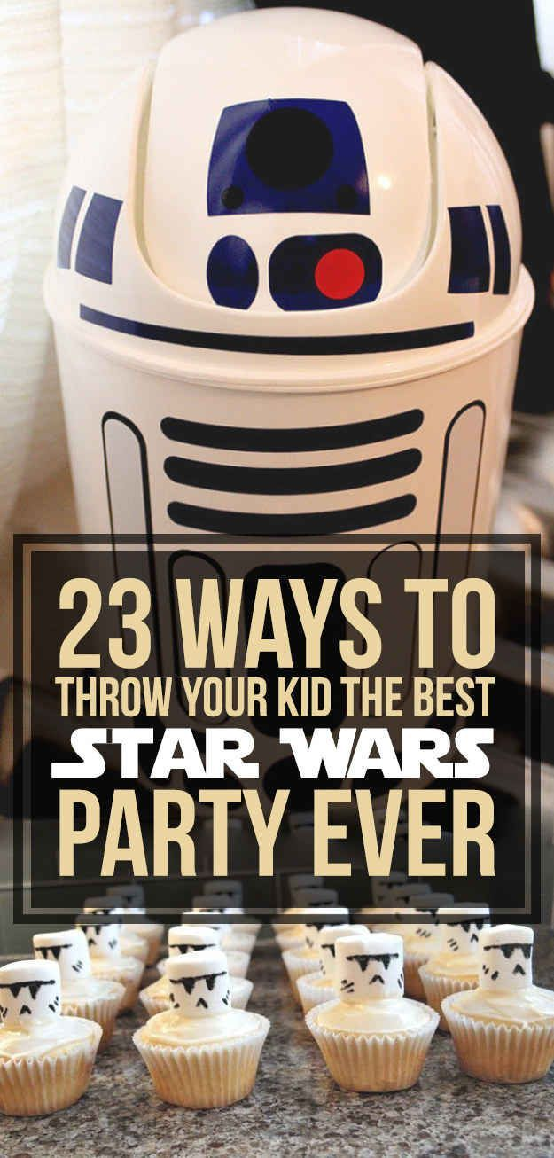 23 Ways To Throw The Best Star Wars Birthday Party Ever Star