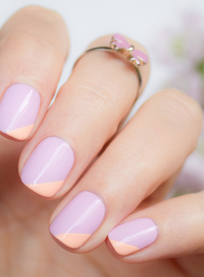Unghii Roz Pal Căutare Google Nail Art Spring Nails Nail