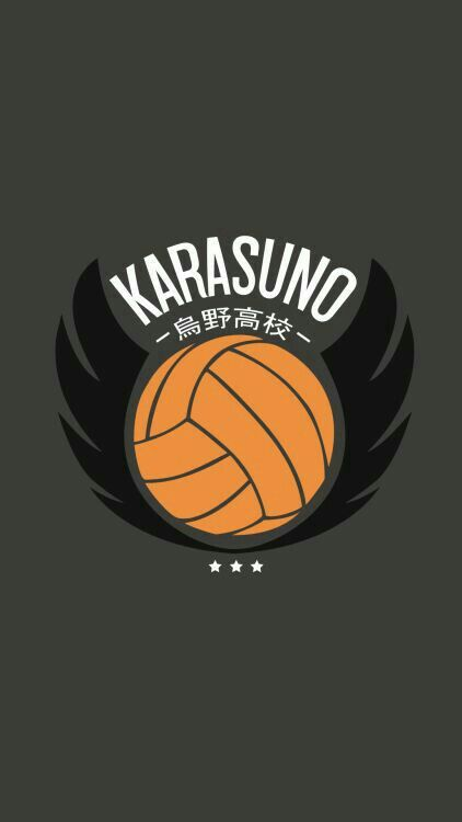 Karasuno lockscreen Haikyuu wallpaper, Haikyuu anime