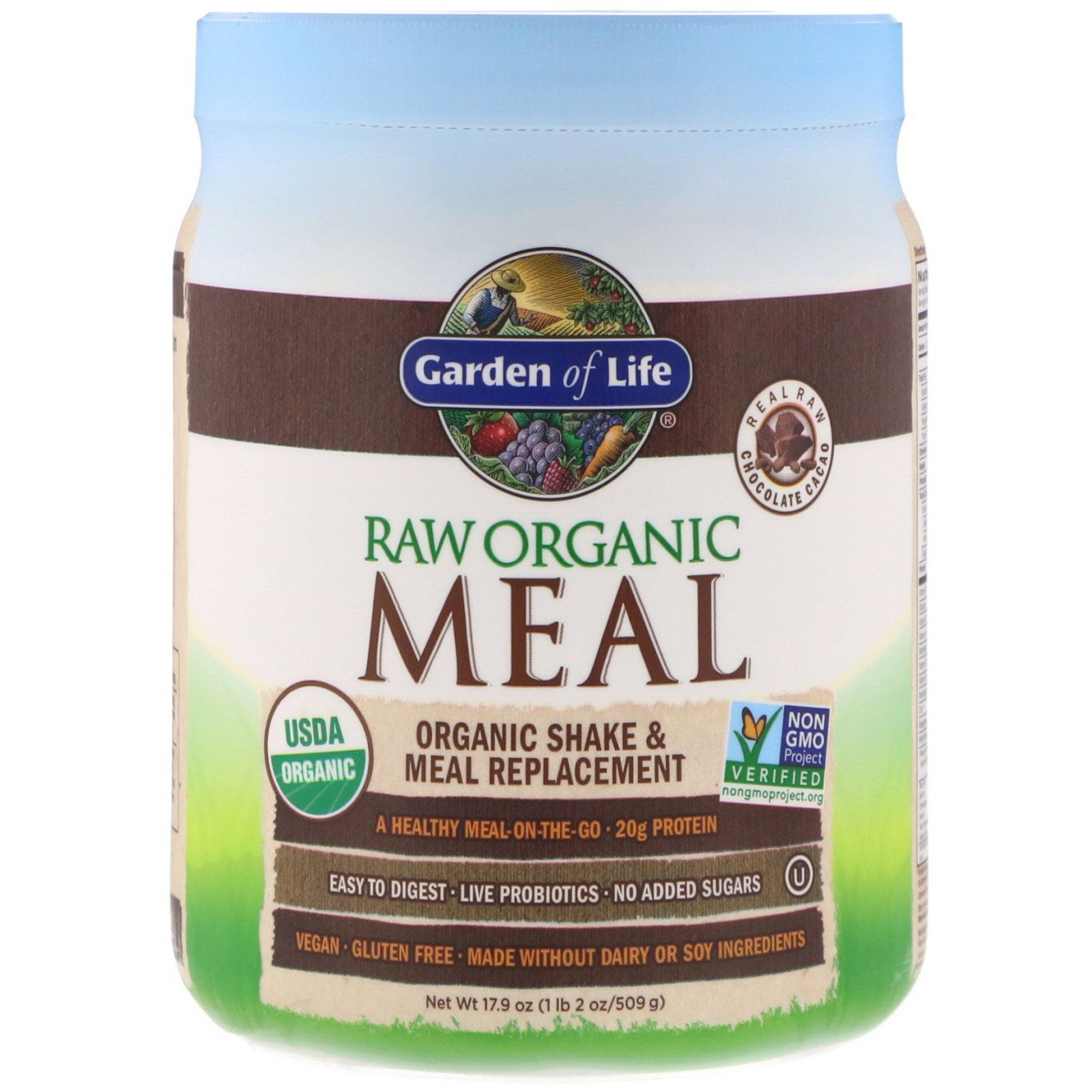 Garden of Life, RAW Organic Meal, Shake & Meal Replacement