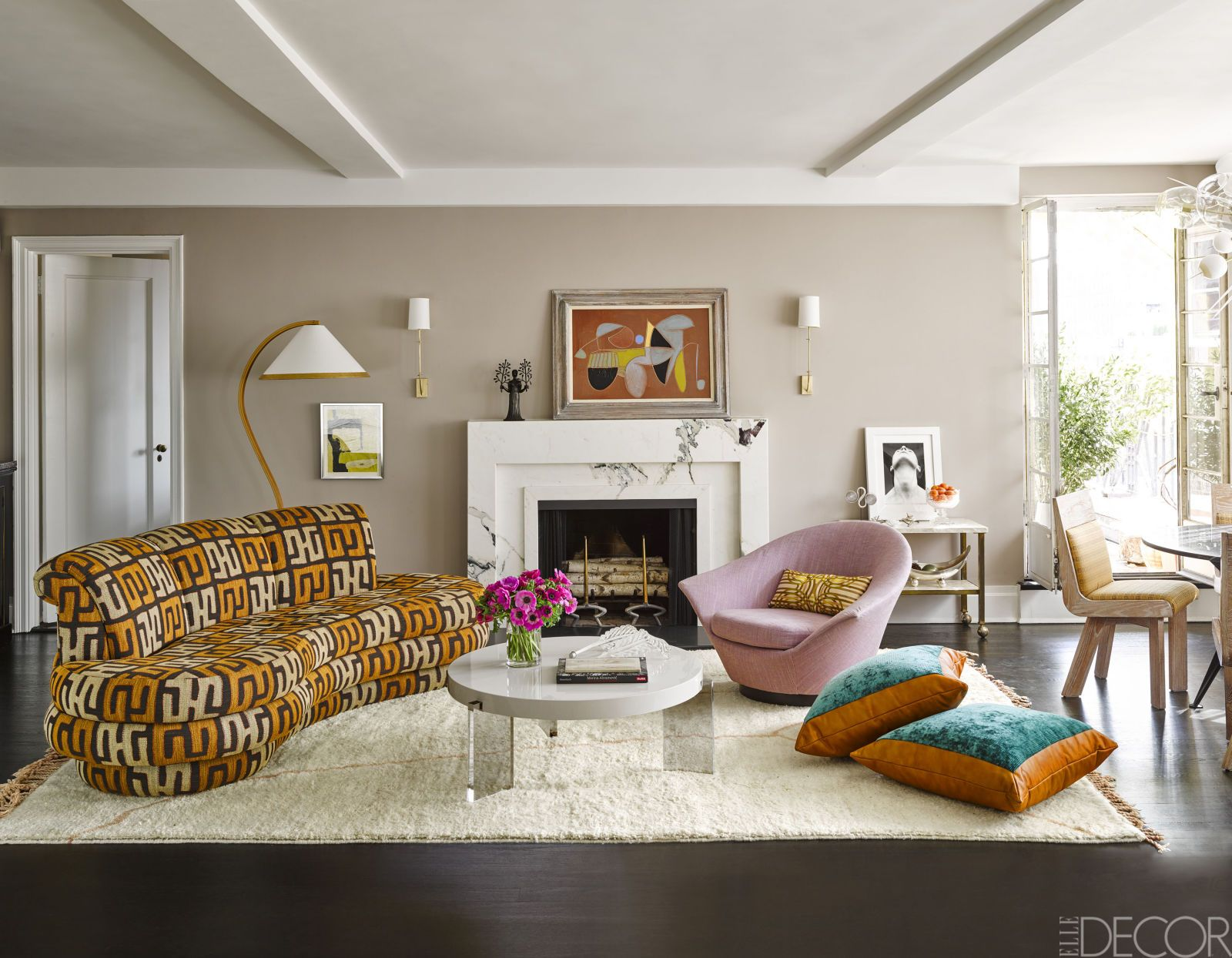 House Tour: At Home With Marisa Tomei | ELLE decor | Pinterest ...