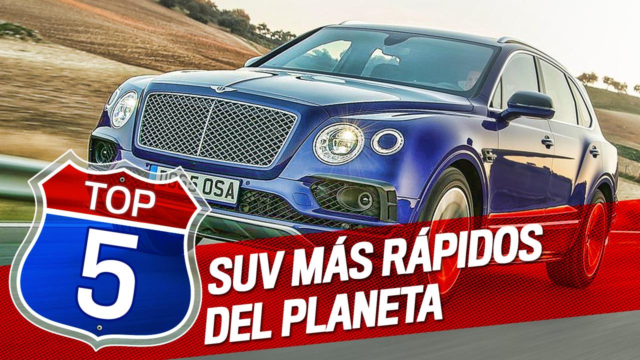 VÍDEO: Los 5 SUV más rápidos del planeta - Autobild.es