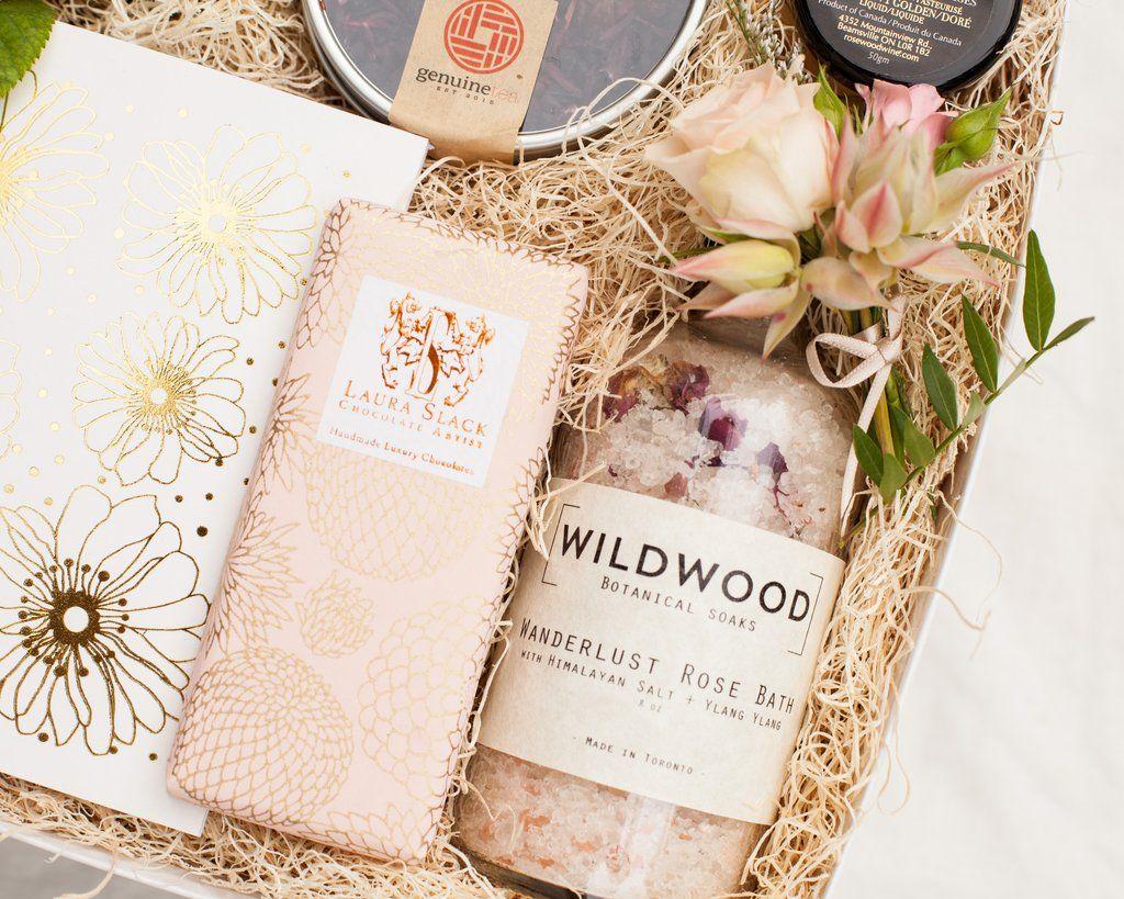 Tea Spa Bridesmaid In 2019 Wedding Ideas Bridesmaid Gift Boxes
