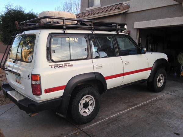New Vehicle For Our Family 1991 Fj80 Land Cruiser