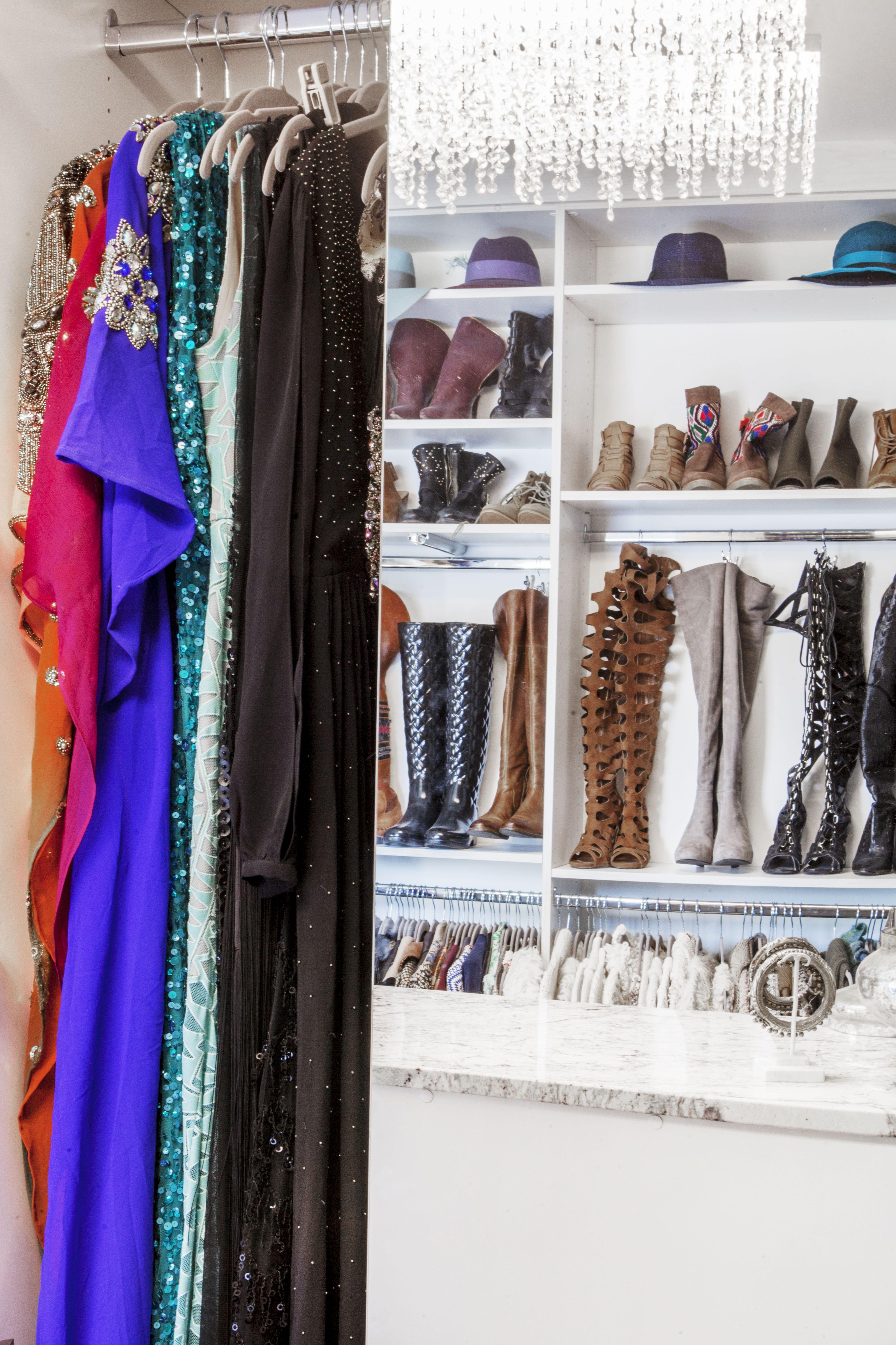 How to style a closetcloset factory custom closet dc custom closet ultimate closet dressing room closet
