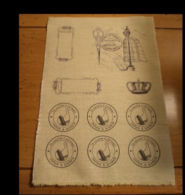 m thode transfert sans feuille particuli re directement sur le tissu diverse pinterest. Black Bedroom Furniture Sets. Home Design Ideas