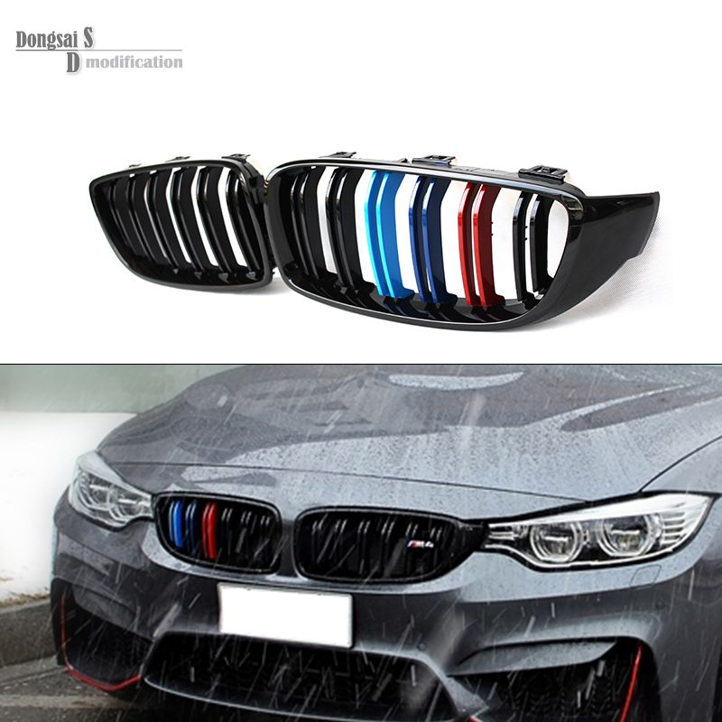 M Three Color Front Kidney Grill Grille For Bmw 4 Series