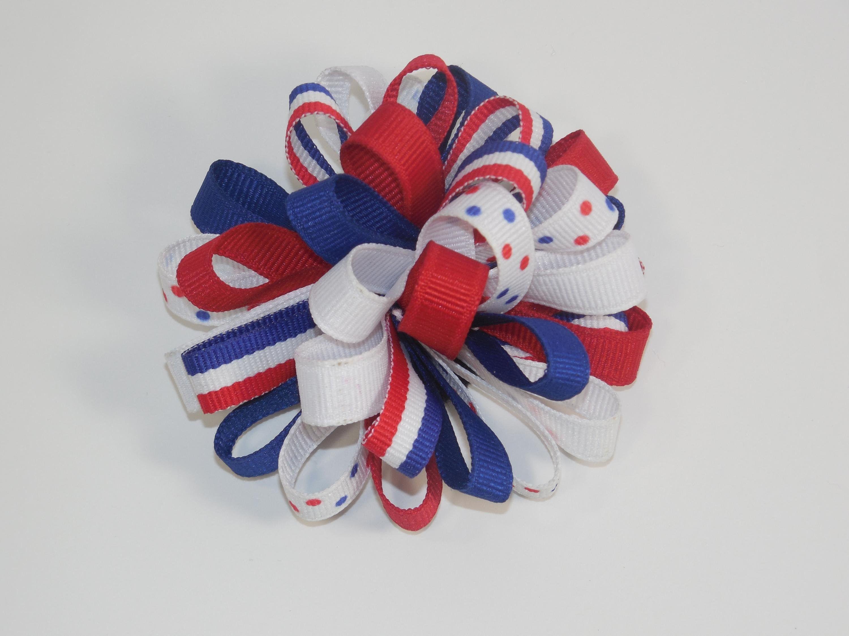 how to make ribbon hair bows