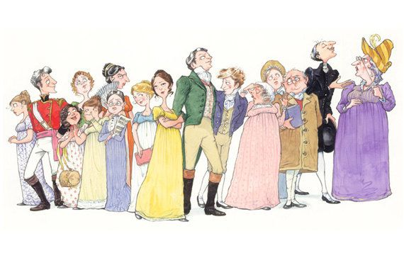 character analysis of mrs bennet in jane austens pride and prejudice Pride and prejudice by jane austen home / character analysis pride and prejudice is about nothing if it isn his response to mrs bennet insisting that he.