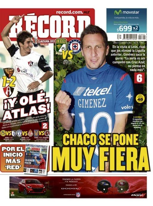 | RÉCORD México 02-02-2013