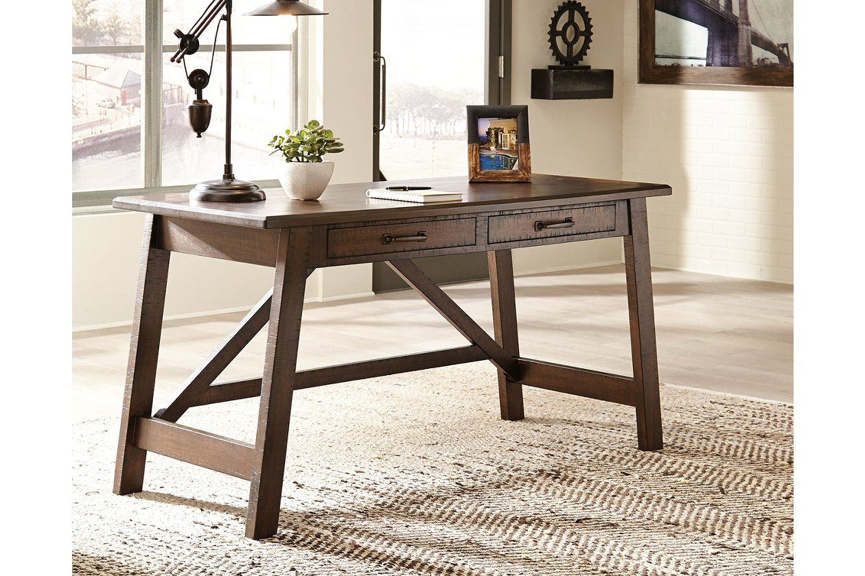 Baldridge Home Office Desk Ashley Furniture Homestore Home Office Table Home Office Furniture Home Office Desks