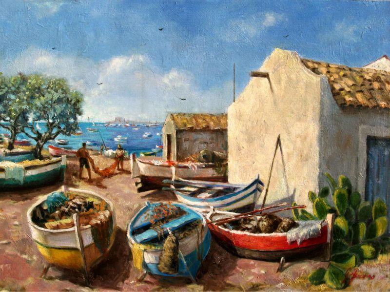 Giuseppe acierno 598buscar por for Paesaggi marini dipinti