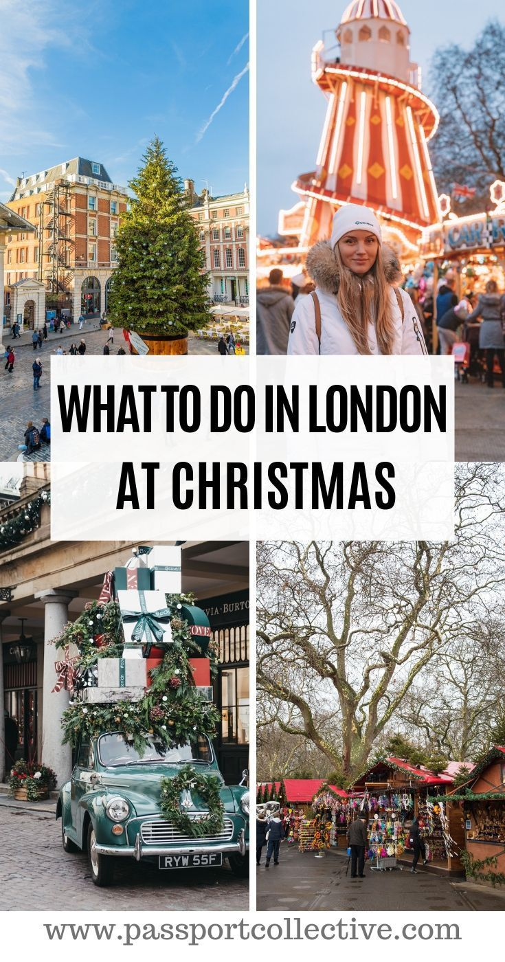 The very best things to do in London at Christmas. Celebrate Christmas in London with these essential festive activities! A must do list for your London vacation. London Christmas | What to do in London | London in winter #london #xmas #christmas #uk