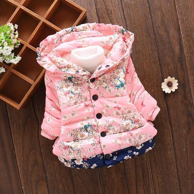 2019 High quality Newborn baby clothes baby girl clothing baby jacket girls coat