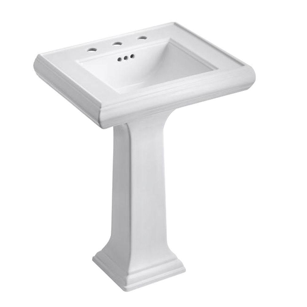 Bathroom Design Centers Impressive Kohler Memoirs Ceramic Pedestal Combo Bathroom Sink With Classic Decorating Inspiration