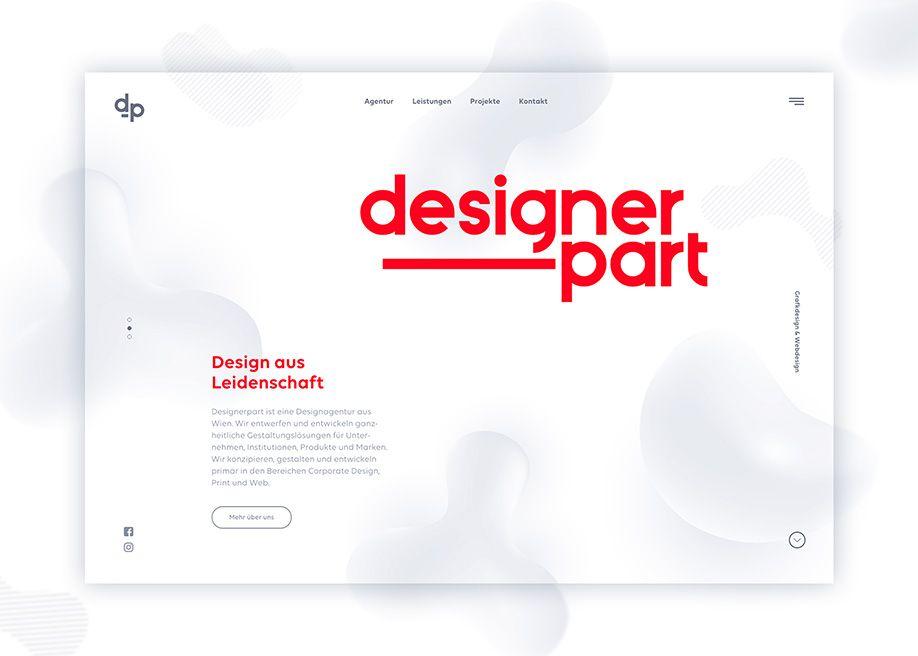 Designer Part Web Design Inspiration Website Design Inspiration Web Design Inspiration Web Design