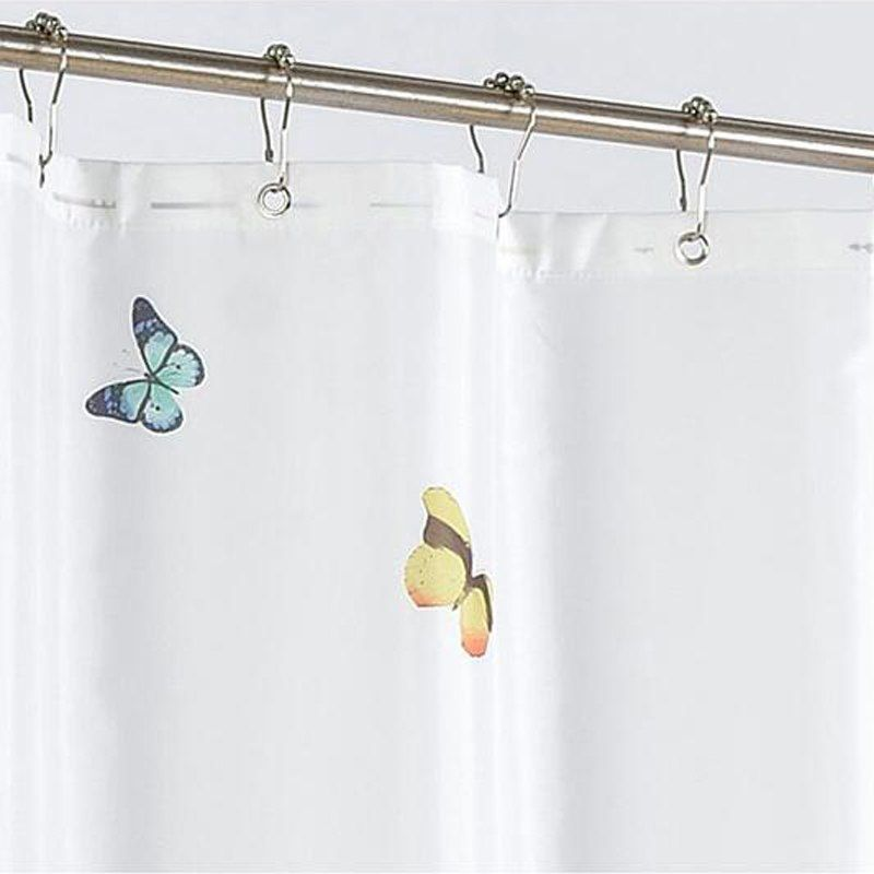 Butterfly Shower Curtain Bath Curtains Modern Shower Curtains