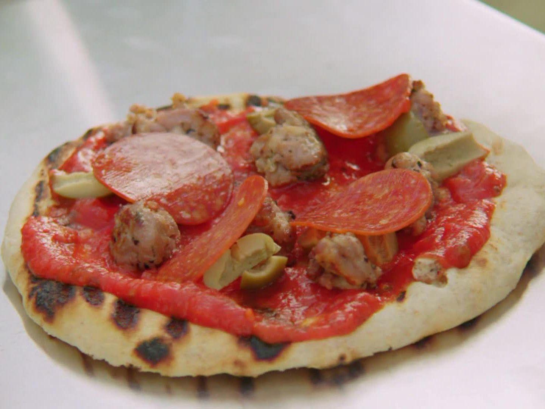 Valeries homemade pizza recipe valerie bertinelli pizzas and valeries homemade pizza recipe from valerie bertinelli via food network forumfinder Choice Image