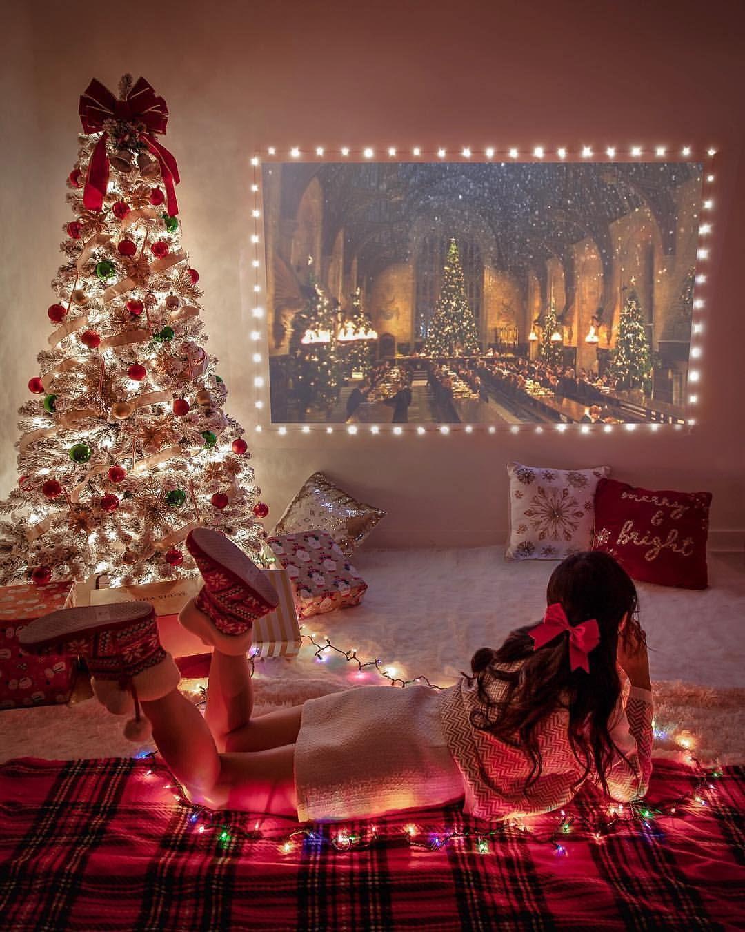 Cozy Vibes Yay Like If You Like Harry Potter Movies Credi Christmas Aesthetic Christmas Tree Decorations Cozy Christmas The history of christmas cards. christmas tree decorations